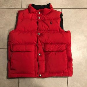 Boys Ralph Lauren vest reversible size 6
